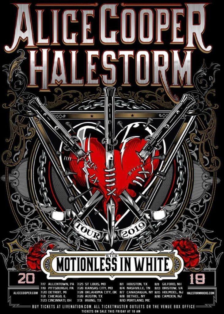 Alice Cooper/Halestorm 2019
