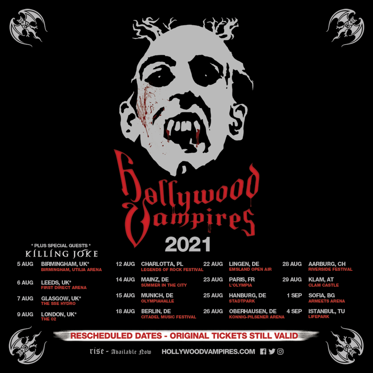 Hollywood Vampires 2021